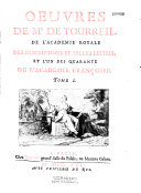 Oeuvres de Mr. de Tourreil,... Tome I [-tome II]