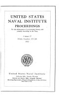 United States Naval Institute Proceedings