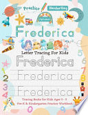 Frederica Letter Tracing for Kids
