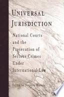Universal Jurisdiction