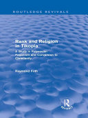 Rank and Religion in Tikopia (Routledge Revivals)