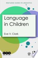 Language in Children