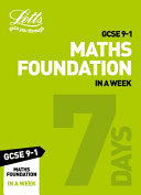 GCSE 9-1 Maths Foundation In a Week