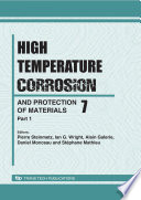 High Temperature Corrosion and Protection of Materials 7