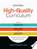 Ensuring High Quality Curriculum