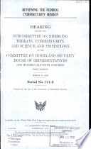 Reviewing the Federal Cybersecurity Mission Book