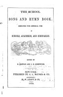 The School Song and Hymn Book