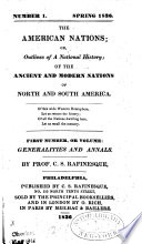 The American Nations  Or Book