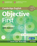 Objective First Student s Book with Answers with CD ROM