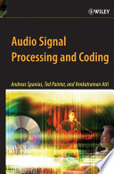 Audio Signal Processing And Coding Book PDF