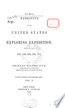 Narrative of the United States Exploring Expedition     1838 1842 Book