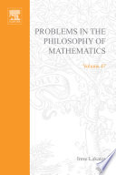 Problems in the philosophy of mathematics Book