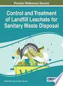 Control and Treatment of Landfill Leachate for Sanitary Waste Disposal Book