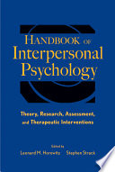 Handbook Of Interpersonal Psychology Book PDF