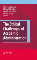 The Ethical Challenges of Academic Administration Pdf/ePub eBook