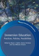 Immersion Education [Pdf/ePub] eBook