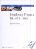 Conditioning Programs for Golf and Tennis