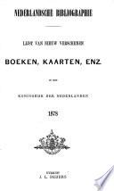 Nederlandsche Bibliographie