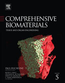 Comprehensive Biomaterials: Tissue and organ engineering