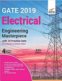 GATE 2019 Electrical Engineering Masterpiece with 10 Practice Sets (6 in Book + 4 Online) 6th edition