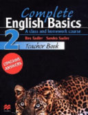 Complete English Basics 2 Teacher Book