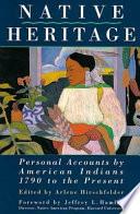 Native Heritage Book