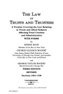 The Law Of Trusts And Trustees