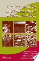 Hot Deformation and Processing of Aluminum Alloys Pdf/ePub eBook