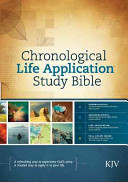 Chronological Life Application Study Bible KJV