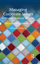 Pdf Managing Corporate Values in Diverse National Cultures Telecharger