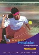 Contemporary Precalculus Through Applications Student Edition Book PDF