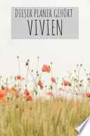 Dieser Planer Gehört Vivien