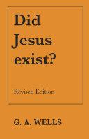 Pdf Did Jesus Exist?