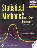 Statistical Methods for Health Care Research by Barbara Hazard Munro PDF