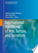 International Handbook Of War Torture And Terrorism Book PDF