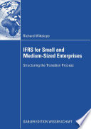 IFRS for Small and Medium Sized Enterprises Book PDF
