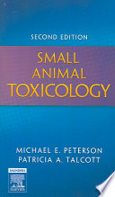 Small Animal Toxicology Book
