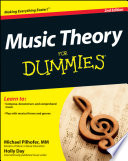 List of Dummies Music Theory E-book