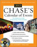 Chase s Calendar of Events 2013 with CD ROM
