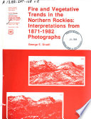 Fire and Vegetative Trends in the Northern Rockies