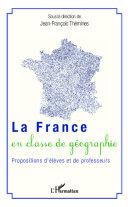 La France en classe de géographie