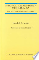Specification and Design Methodology for Real-Time Embedded Systems