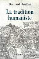 Pdf La Tradition humaniste Telecharger