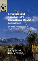 Structure and Function of a Chihuahuan Desert Ecosystem