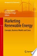 Marketing Renewable Energy