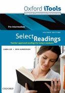 Select Readings 2e Pre Intermediate Itools DVD-rom