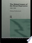 The Global Impact of the Great Depression 1929 1939