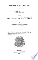 The Fall of the Republic of Florence Book PDF