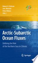Arctic Subarctic Ocean Fluxes