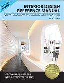 Interior Design Reference Manual Book
